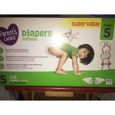 Parents Choice Diapers size 5