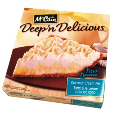 McCain Deep 'n Delicious Coconut Cream Pie