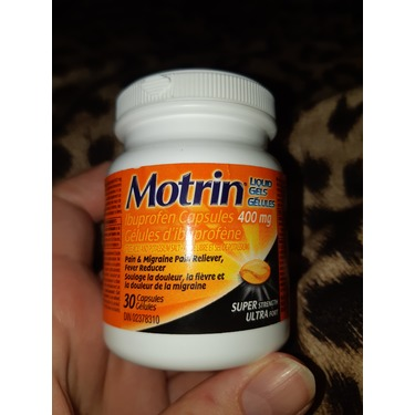 MOTRIN Super Strength Liquid Gels