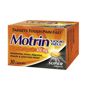 MOTRIN Super Strength Liquid Gels