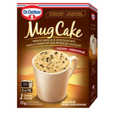 Dr. Oetker French Vanilla & Chocolate Bits Mug Cake