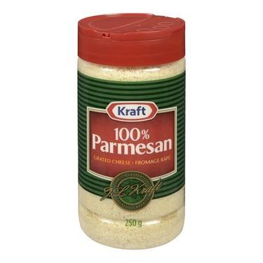 Kraft 100% Parmesan Grated Cheese