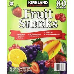 Kirkland Signature Fruit Snacks Pouches