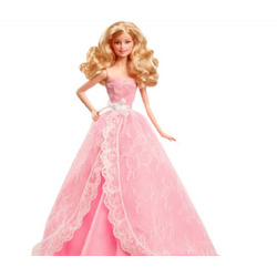 Barbie 2015 birthday wishes doll
