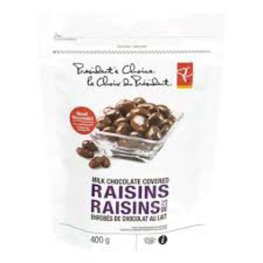 President's Choice Chocolate Covered Raisins