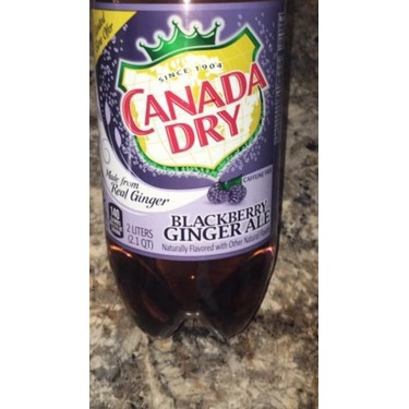 Canada Dry Blackberry Ginger Ale Reviews In Soft Drinks Familyrated