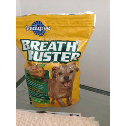 Pedigree Breath buster cookies