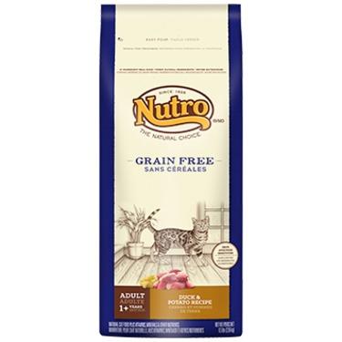 NUTRO™ GRAIN FREE ADULT CAT FOOD DUCK & POTATO RECIPE