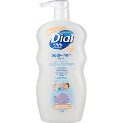 Dial Kids Body + Hair Wash, Peachy Clean