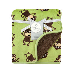 Carters Monkey Blanket