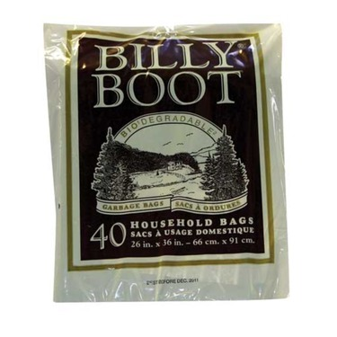 Billy boot garbage bags