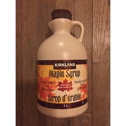 Kirkland Signature Maple Syrup