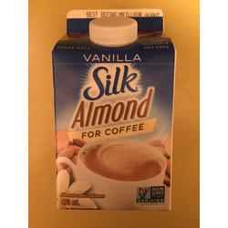 Silk Almond For Coffee Vanilla