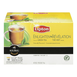 Lipton Enlighten Smooth Green Tea K-Cup Packs