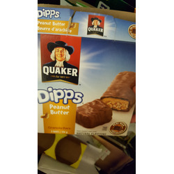 Quaker Chewy Dipps Chocolate Covered Peanut Butter Granola Bars