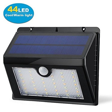 Dual Color Light 44 LED Solar Outdoor Motion Lights