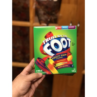Fruit By The Foot Variety Pack