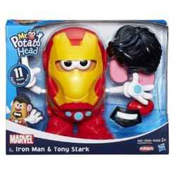 Mr.potato head iron man & tony stark