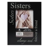 Sisters wooden picture frame