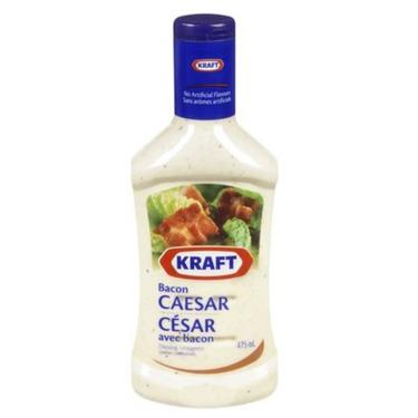 Kraft bacon Caesar dressing