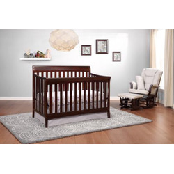 Stork craft Avalon crib in espresso