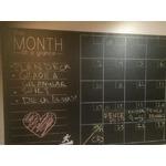 NowTrail Large Chalkboard Calendar