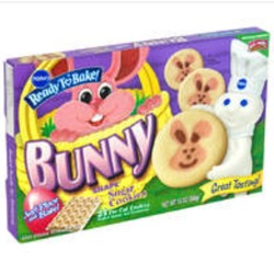 Pillsbury ready to bake bunny cookies