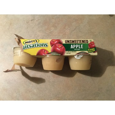 Mott's Fruitsations Unsweetened Applesauce