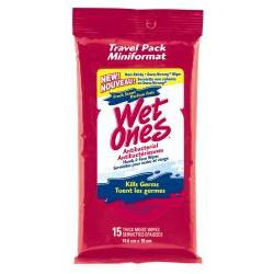 Wet Ones Antibacterial Wipes in Fresh Scent