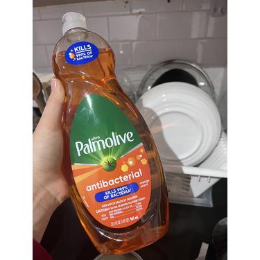 Palmolive antibacterial orange dish liquid