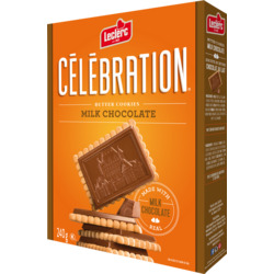 Leclerc Celebration Milk Chocolate Cookies