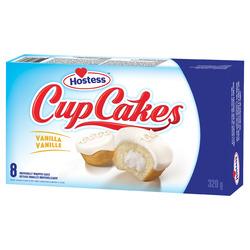Hostess Vanilla Cupcakes