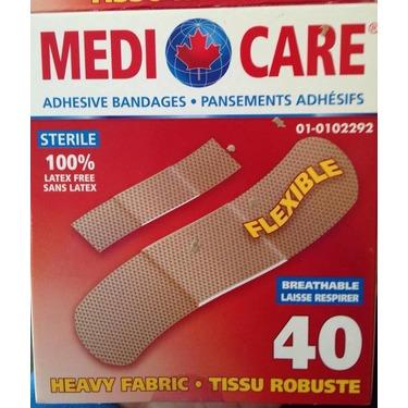 MediCare Adhesive Bandages - Heavy Fabric