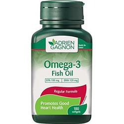 Adrien gagnon omega 3 fish oil reviews in vitamins for Best rated fish oil