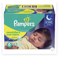 Pamper Swaddlers Overnight