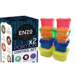 Portion Control Containers 2 Set (14 Pieces)