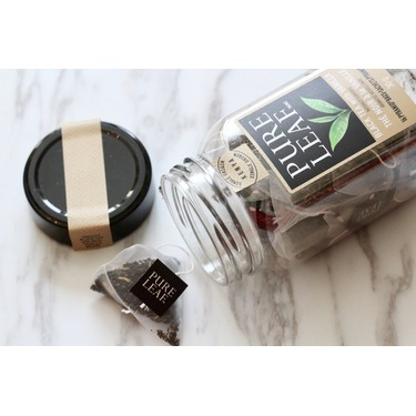 Pure Leaf Black Tea with Vanilla, pyramid bags
