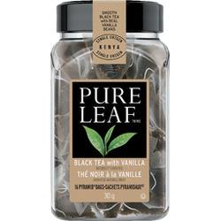 Pure Leaf Black Tea with Vanilla, pyramid bags