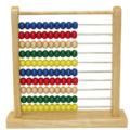 Melissa & Doug Wooden Coloured Abacus