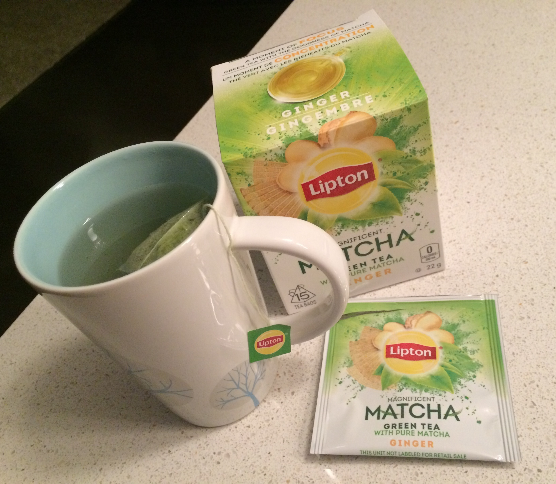 Lipton Green Tea Matcha Ginger Image Gallery
