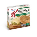 Special K Spinach Egg Flatbread
