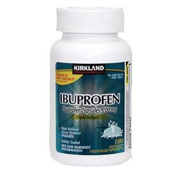 Kirkland Ibuprofen Liquid Capsules