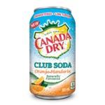 Canada Dry Club Soda Orange-Mandarin
