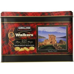 Kirkland Signature Walkers Premium Shortbread Selection Gift Tin