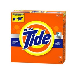 Tide ultra for cold water powder detergent