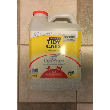 Purina Tidy Cats LightWeight 24/7 Performance Clumping Cat Litter for Multiple Cats
