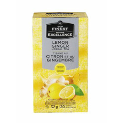 Our Finest Lemon Ginger Herbal Tea