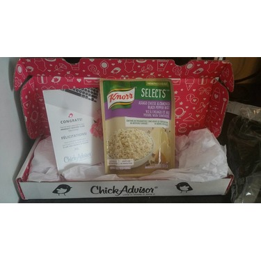 Knorr Selects Asiago Cheese And Black Pepper Rice Reviews