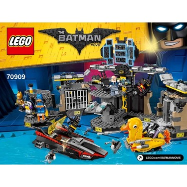 LEGO 70909 Batman Movie Batcave Break In