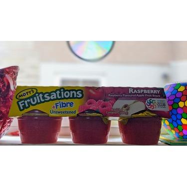 Mott's Fruitsations +Fibre Unsweetened Raspberry
